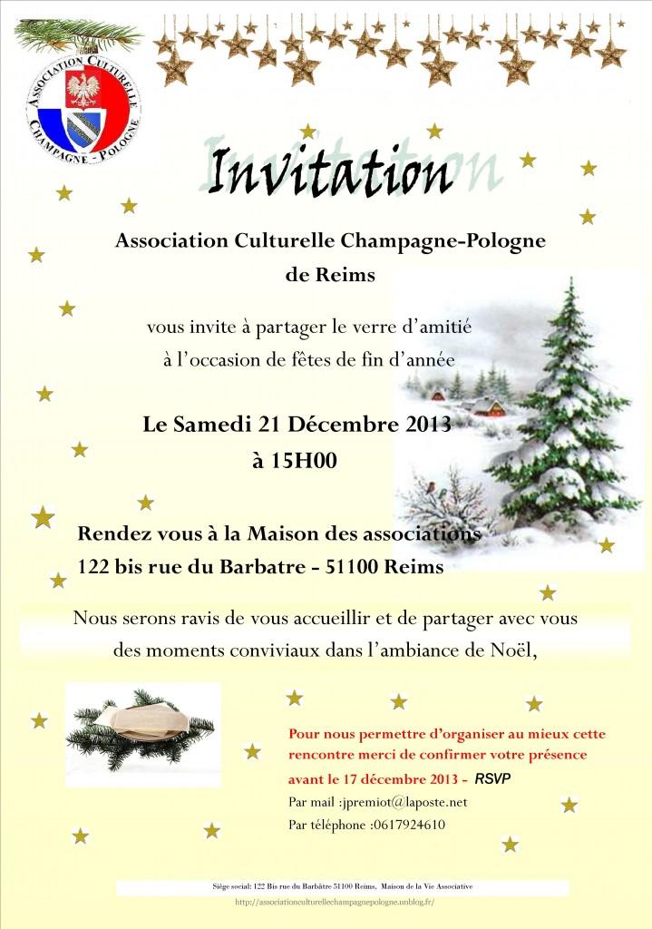 invitation voeux