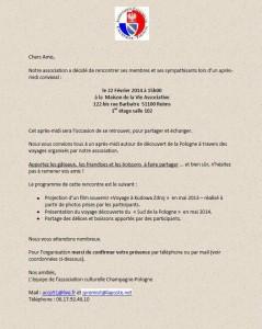 Invitation 22 fevrier 2014
