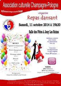 Affiche repas dansant 11_10_2014