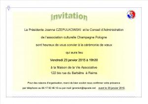Voeux invitation