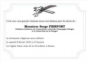 deces Serge Fierfort